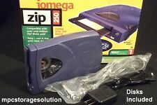 250 MB IOMEGA SCSI ZIP DRIVE for AKAI MPC2000XL INCLUDE 50 PIN SCSI CABLE/ DISK