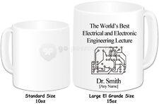 Personalised El Grande Large 15oz Mug- Electrical & Electronic Engineer Lecturer