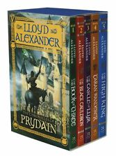 The Chronicles of Prydain Boxed Set by Lloyd Alexander, (Paperback), Square Fish