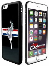 Cell Phone Cases Covers Skin for Apple iPhone 6 plus BLACK Ford Mustang Black