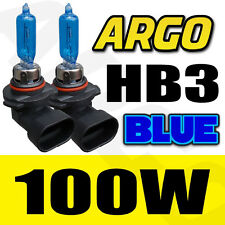 HB3 9005 8500K 100W HEADLIGHT BULBS HID LOOK XENON BLUE FANTASTIC COLOUR