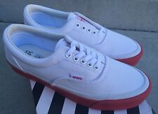 Vans OG Era LX WTAPS White Red SIZE 5 NEW WITH BOX Double Taps