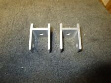 (2) NEW PONTOON DECK BOAT FENCE RAIL BRACKETS LOWE CRESTLINER FREE SHIPPING