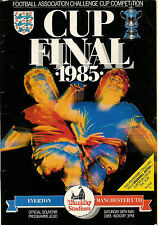 Everton v Manchester United 18 May 1985 FA CUP FINAL FOOTBALL PROGRAMME