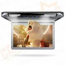 "XTRONS In Car Overhead Ceiling Roof Mount Monitor 13"" Wide Screen HDMI/USB/SD/IR"