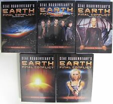 Earth Final Conflict Complete Season 1 2 3 4 5 DVD SET TV Collection Series Show
