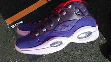 Reebok Question OG Mid Retro Shoe Sz 11 Mens Purple Ghost of Christmas V61429