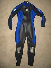 IST Proline Oceanus VIII Full Body Wetsuit - Womens Size 9 - Blue / Black