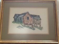 "Harvey Water Color ""Black Smith Shop"" Discovery Canada"
