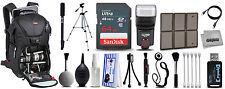 Deluxe Backpack + Photography Accessory Kit for Sony a 5100 Digital DSLR Cameras
