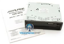 ALPINE CDE-9873 CAR AUDIO STEREO RADIO BODY NO FACE / CHASSIS ONLY NEW