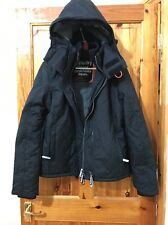 SUPERDRY Women's Hooded Sherpa Quilted Windchea Winter Jacket UK Size L BNWT
