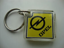 **OPEL** KEY RING SEE THRU PLASTIC* KEY CHAIN stainless oem/333 and oem3332 *NEW