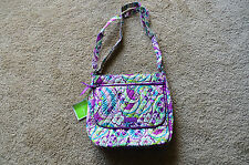 Vera Bradley Disney Mailbag Crossbody Hipster in Plums Up Mickey