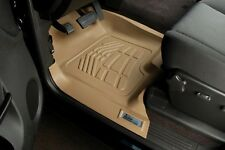 Front Row Floor Mats By Wade TAN 2015 - 2016 GMC Yukon / Yukon Denali