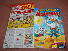 MICKY MAUS***COMIC***HEFT***NR.28 VOM 06.07.2012 + POSTER