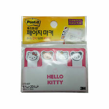 3M Hello Kitty Post-It Page Marker Memo Cute Super Sticky Note/80Sheets 670-4KP