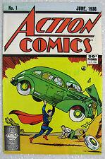 Action Comics #1 1988 Reprint 1st Superman 50th Anniversary VHTF BIG PICS!