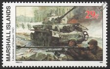 WWII LIBERATION OF KHARKOV 1943 & Destroyed German PANZER IV Tank Stamp