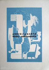 Pubblicità 1940 Napoli I°Oltremare-ABBIGLIAMENTO-TESSILI-ARREDAMENTO- L.BONACINI