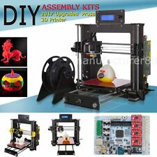 DIY 3D printer LED display large desktop 3D printer, with Free Filament