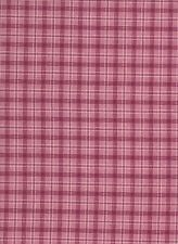 Red / Pink / White Check Cotton Fabrix (115cm wide)