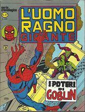 L'UOMO RAGNO GIGANTE n° 37 Ed. CORNO