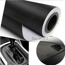 Carbon Fiber Vinyl Wrap Roll Film Black Sheet DIY Car-Styling Decal  2017 New