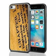 Religious Holy Bible In The Beginning For Iphone 7 Case Cover By Atomic Market