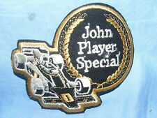 Vintage Old Sew On Patch John Player Special Racing Team Tobacco Advertising JPS