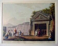 ENGRAVINGS PALESTINE/HOLY LAND  SEPULCHRE OF JUDGES OF ISRAEL  LUIGI MEYER 1803