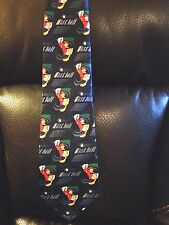 DONALD DUCK FASTBALL BASEBALL TIE NECKTIE MICKEY UNLIMITED LONG 60""