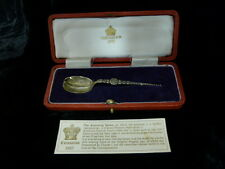Sterling Silver 1937 Coronation Spoon - Anointing Spoon - Original Box