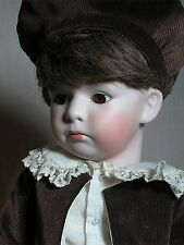 """Antique Reproduction German Gebruder Heubach Character Pouty Doll 24"""""""