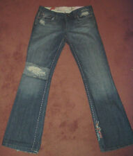 Joe's Jeans 29 Limited Edition Vintage series 1971 Flower Stitching distressed