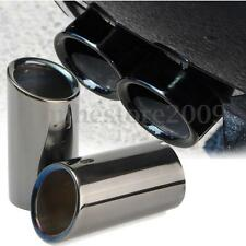 Tail Exhaust Tip Pipes Titanium Black For BMW E90 E92 325i 328i 3 Series 06-10