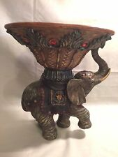 """Beautiful ELEPHANT STAND 14 X 12"""" CENTERPIECE STAND  FRUIT Bowl Turtle King Corp"""