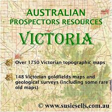 Australian Prospectors Resources - Gold & Topo Maps, Geological surveys VICTORIA