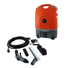 PYLE BATTERY POWERED PORTABLE PRESSURE SPRAY WASHER CLEANER SYSTEM 12V CAR PLUG