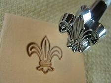 US Stamps - #O4 Fleur-de-lis Stamp (Leather Stamping Tool)