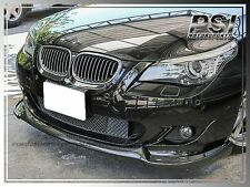 HG Style Carbon Fiber Front Lip fit BMW 04-10 E60 E61 w/ M-Tech Bumper Only