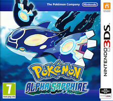 POKEMON ALPHA SAPPHIRE 3DS GAME BRAND NEW SEALED OFFICIAL PAL