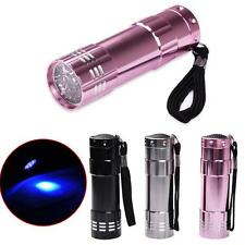 New LED UV Gel Curing Lamp Light Professional Dryer Fast Cure Nail Flashlight
