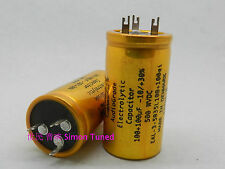2pcs Jensen Hi-Fi Capacitor 100 + 100uF 500V 35*65mm -10/+30% For Audio #J315 lx