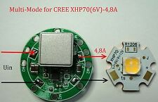 LED driver LDRADJ29-4.8A, 4,8A, 12V, DC 8V-38V Multi-Mode for CREE XHP70 (6V)