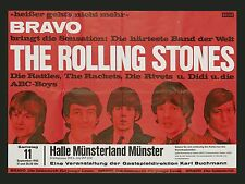 "Rolling Stones German 16"" x 12"" Photo Repro Concert Poster"