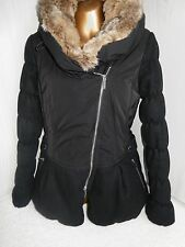 Karen Millen Warm winter Wool & Nylon Padded jacket Sz 8 - 10 Very good cond