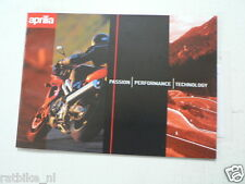 D854 BROCHURE APRILIA ALL MODELS SCOOTERS & MOTO 28 PAGES FRENCH/DUTCH LANG