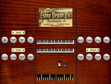 Virtual reed organ for Hauptwerk Estey Style T 2 manual and pedal 10 ranks