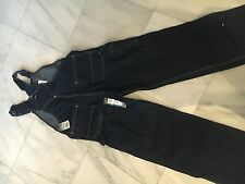 50 x 32 Dickies denim bib overalls dark denim Brand New!!!